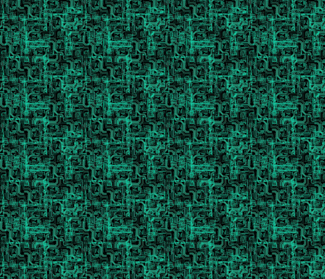 Computer Circuits fabric by samuraismurfette on Spoonflower - custom fabric