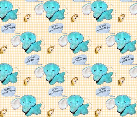 Regretsy Elephant Nursery Print fabric by stellababy_etsy_com on Spoonflower - custom fabric