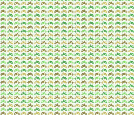 Dirt Bikes - brown and greens fabric by jesseesuem on Spoonflower - custom fabric