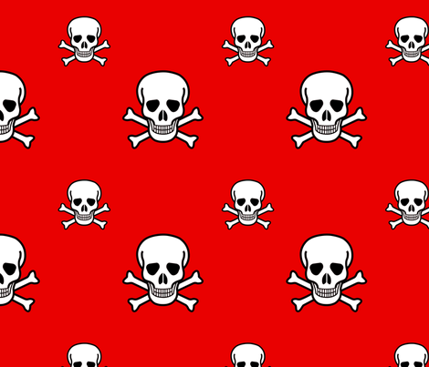 Arrrgh! fabric by tallulah on Spoonflower - custom fabric