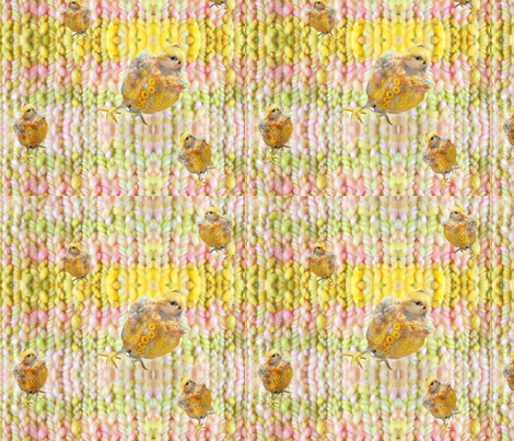 Chicken Poncho fabric by carriembecker on Spoonflower - custom fabric