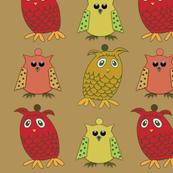 Owl Ornies