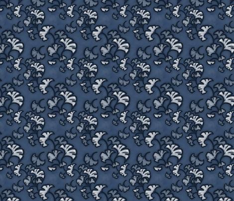 Ginkgobinkgo fabric by felis_astrum on Spoonflower - custom fabric