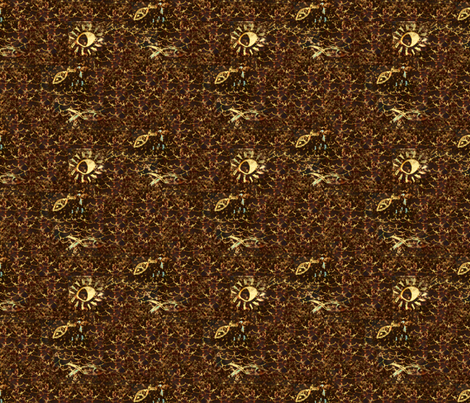 The New Moon's Arms fabric by nalo_hopkinson on Spoonflower - custom fabric