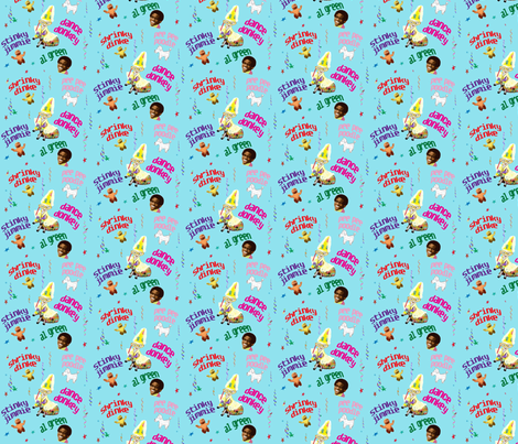 donkey party confetti fabric by razberries on Spoonflower - custom fabric