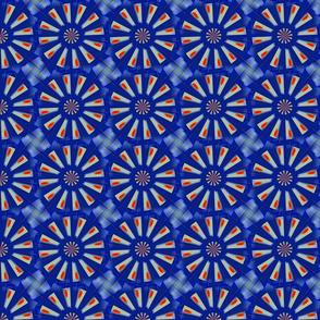 Blue Daisy Knot