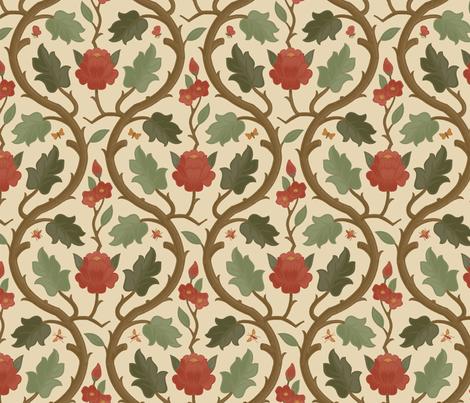 Forest Serpentine 1a fabric by muhlenkott on Spoonflower - custom fabric