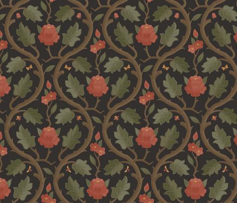 Forest Serpentine 1e fabric by muhlenkott on Spoonflower - custom fabric
