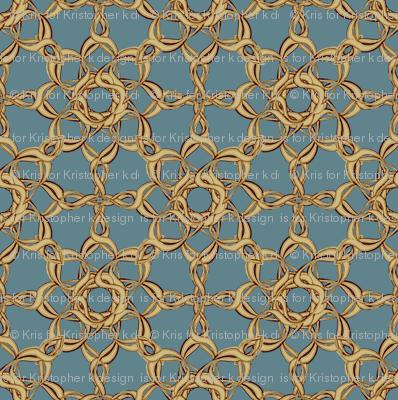Rosettes Grand - Duck Egg Blue