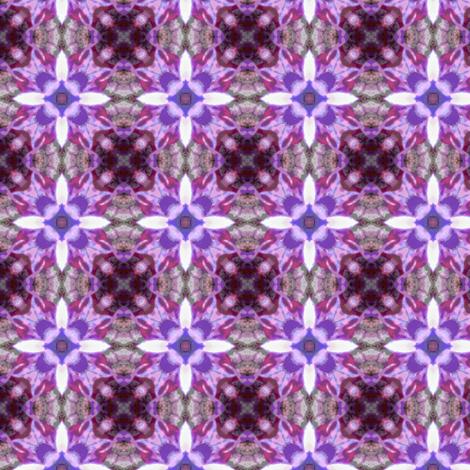 Longwort pattern III fabric by vib on Spoonflower - custom fabric
