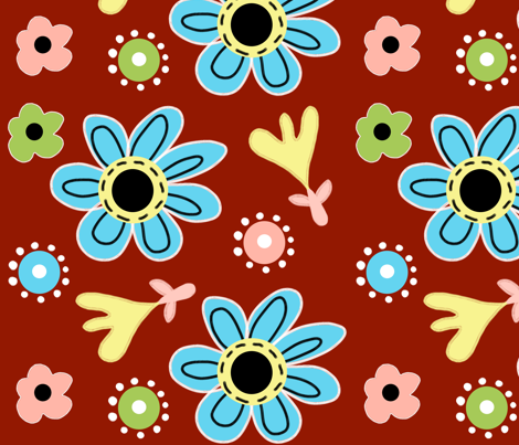 happy day fabric by emilyb123 on Spoonflower - custom fabric