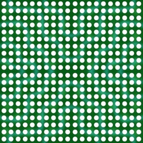 Spearmint Dark Green Bubblegum Dots