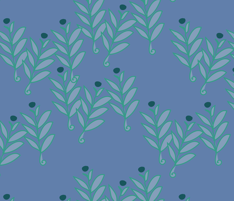 Juniper fabric by linesmith on Spoonflower - custom fabric