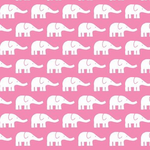 SMALL Elephants pink