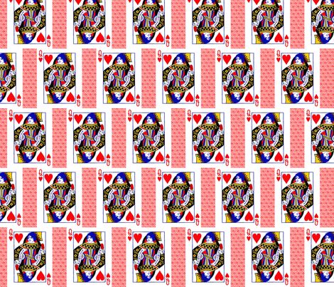 Queen of Snark fabric by razberries on Spoonflower - custom fabric