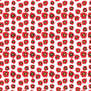 Red Flowers Small Scale
