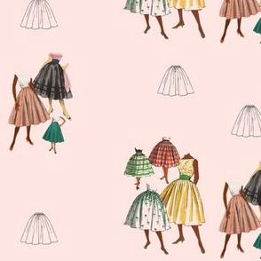 Skirts Parade Peach