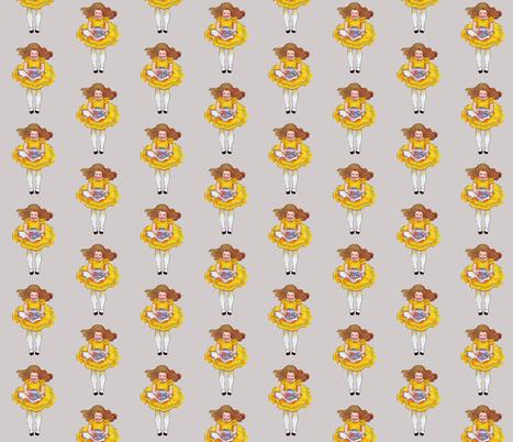 Alice Down the Rabbit Hole fabric by karenharveycox on Spoonflower - custom fabric