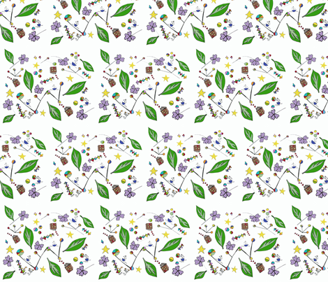 where is the cat? fabric by kt40 on Spoonflower - custom fabric