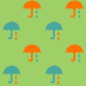 paraplyer green