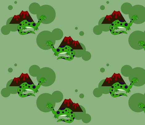 Dinosaurus Spot fabric by thoris_designs on Spoonflower - custom fabric