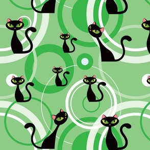 retro_cats_green