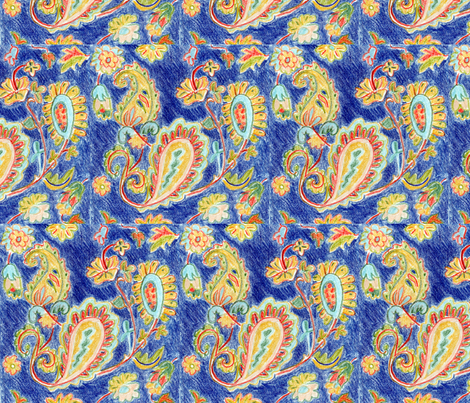 magic carpet 2 fabric by withonethread on Spoonflower - custom fabric