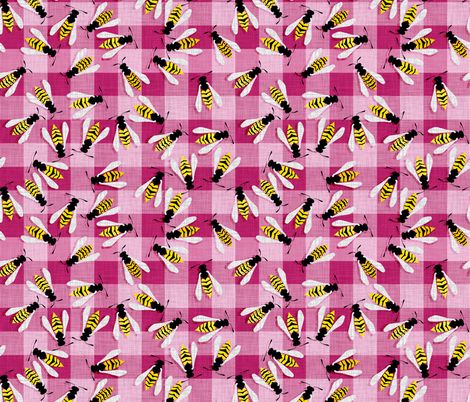 Raspberry Jam custom fabric by spellstone on Spoonflower - custom fabric