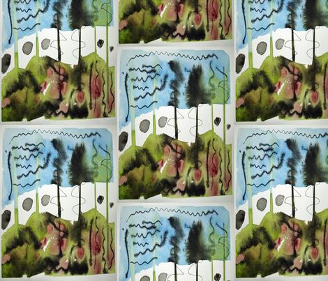 Piney Wood fabric by helenklebesadel on Spoonflower - custom fabric
