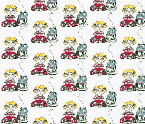 missmuffet_2-ed fabric by katewest on Spoonflower - custom fabric