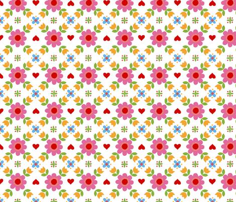 Retropattern  fabric by katharinahirsch on Spoonflower - custom fabric