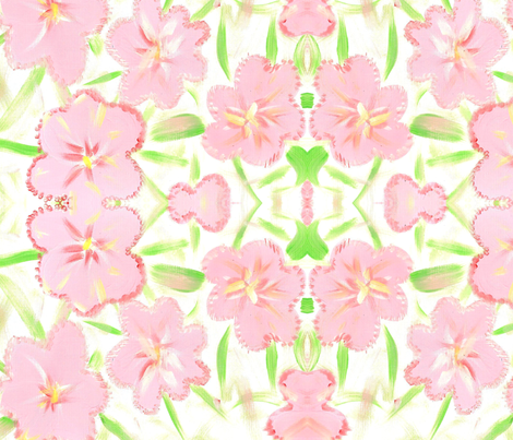 Whitney Grace fabric by lucied on Spoonflower - custom fabric