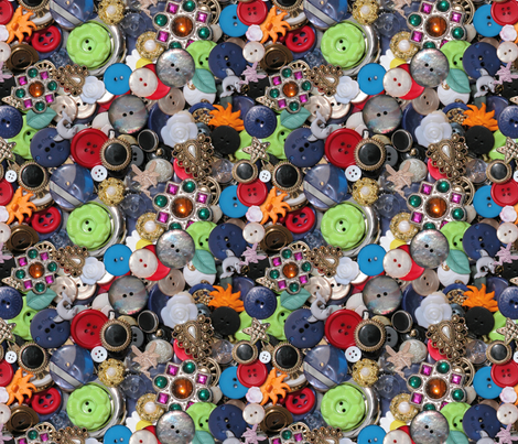 buttons fabric by hannafate on Spoonflower - custom fabric