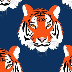jungle tigers in auburn colors