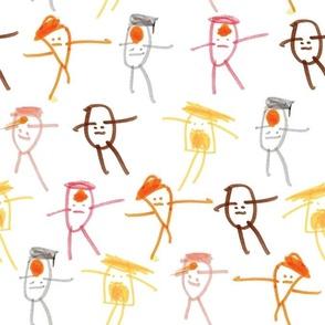 Sarah's Characters