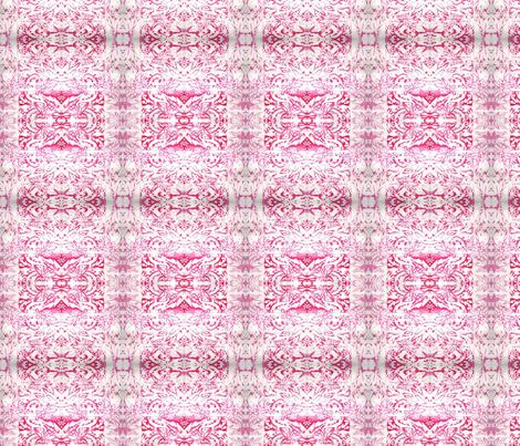 pink monoprint fabric by lindaedkinswyatt on Spoonflower - custom fabric