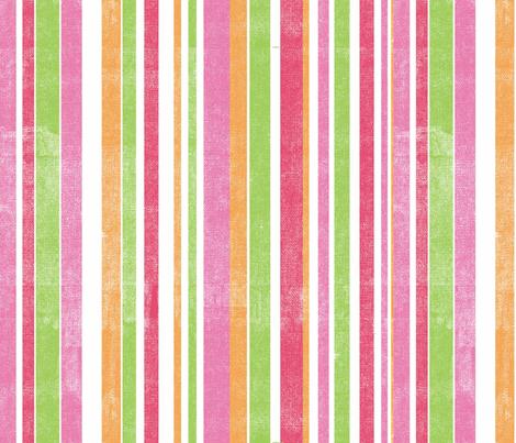 peacock_stripes fabric by marnielong on Spoonflower - custom fabric