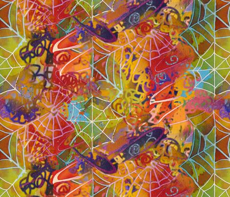 Webs of Wonder fabric by helenklebesadel on Spoonflower - custom fabric