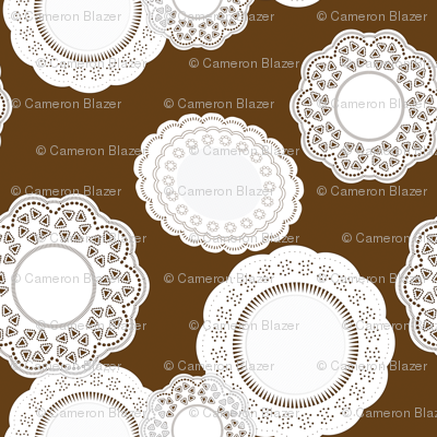 Ice Cream Social :: Mint Chocolate Chip :: Doilies