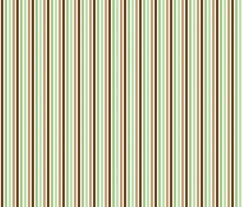 Ice Cream Social :: Mint Chocolate Chip :: Stripe fabric by cottageindustrialist on Spoonflower - custom fabric