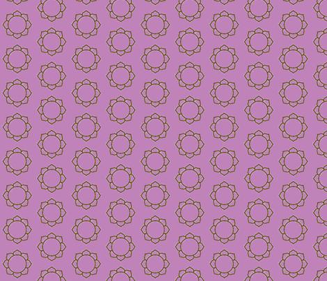 lotus fabric by francescalyn on Spoonflower - custom fabric