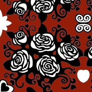 redrosefabric