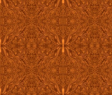 JamJax Golden Crest fabric by jamjax on Spoonflower - custom fabric