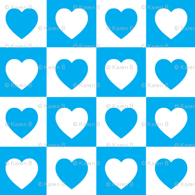 Checkered Hearts