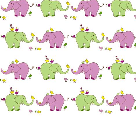 elephants fabric by jonilynette on Spoonflower - custom fabric