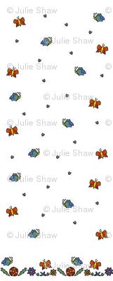 Papillon Papercut 2, vertical