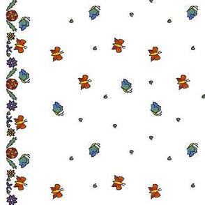 Papillon Papercut 2, horizontal