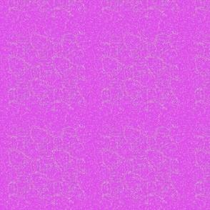 Subtle Cracks in Violet