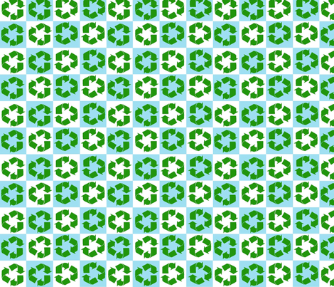 Recycled fabric by cutiepoops on Spoonflower - custom fabric