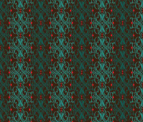 Elizabeth in February fabric by libbyunwin on Spoonflower - custom fabric